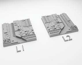 3D printable model Star Wars Death Star Tile Type L