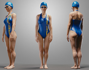 3D SwimmingpoolgirlCasualA