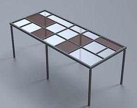 gazebo Fabricated sun shade 3D