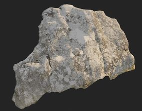 3d scanned nature stone 013 game-ready