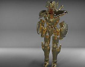 libra myth cloth from Saint Seiya knights 3D print model 2