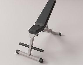 3D model Exercise Bench