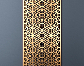 Decorative panel 215 3D model