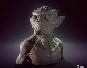 face FishFace Creature - 3D print