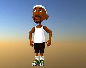 Sport man 3D model