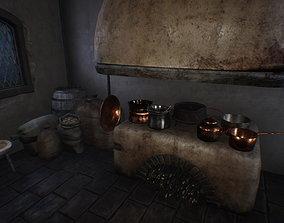 Medieval Room 3D model