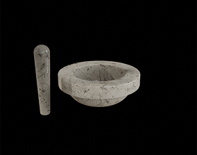 Matching Pestle marble 3D model