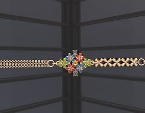 3D printable model Enamel bracelet G0-3010153
