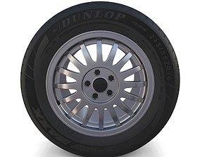3D model Generic Alloy Wheel