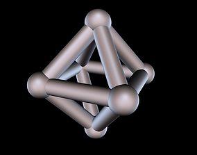 008 Mathart - Platonic Solids - 3D printable model 4