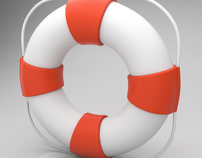 sea Lifebuoy 3D