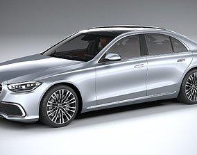Mercedes-Benz S-Class 2021 3D model