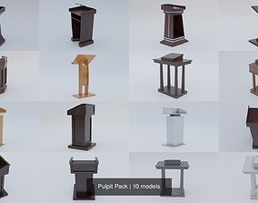 Pulpit Pack 3D model