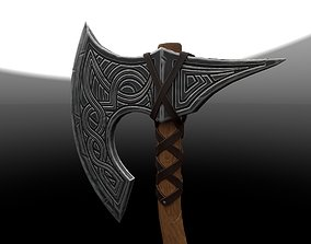 army 3D model Axe game-ready