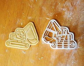 3D print model Excavator cookie cutter