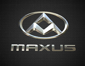 maxus logo 3D model