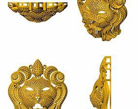 Lion pendent 3D printable model