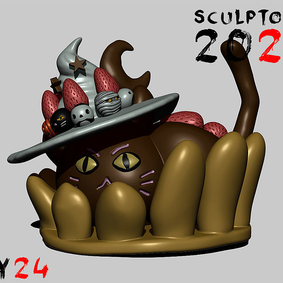Sculptober Day 24 Sweet