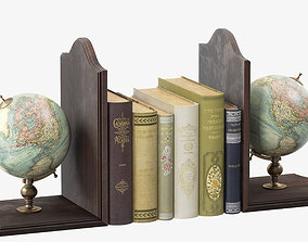 3D model Globe Bookends
