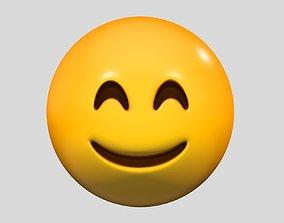 Emoji Smiling Face 3D model
