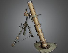 MLT - Military Mortar 01 - PBR Game Ready 3D model