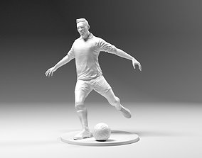 Footballer 03 Footstrike 07 Stl 3D print model