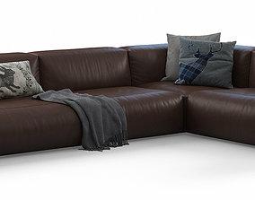 Cloud Corner Sofa by Prostoria 3D model