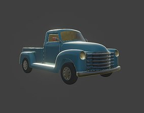 3D asset chevrolet 1947 truck