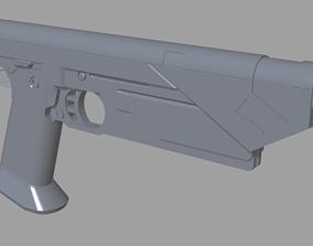 Bo-katan Westar-35 mandalorian blaster 3D print model