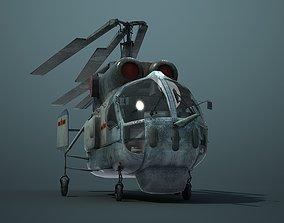 3D model Chinese Navy Ka-27 Ka-28 Antisubmarine Helicopter
