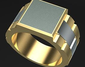 3D printable model Rolex Style Ring for Man