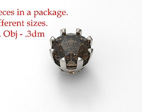 Jewelry Prong Head Set Package 035 3D printable model