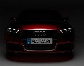 Audi A3 2013 sedan 3D model