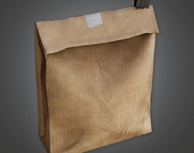 School Brown Bag Lunch - CLA - PBR Game Ready 3D asset
