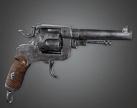 FPS Western Pump Shotgun - Sodden - WES - PBR 3D asset 1