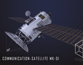 3D model NEO Communication Satellite Mk-1
