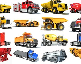 Heavy Truck Collection 3D