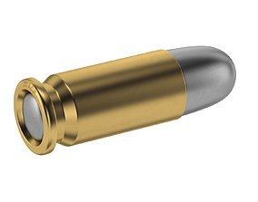 3D asset Bullet 25 ACP