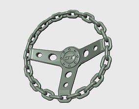 3D printable model Chain Steering wheel