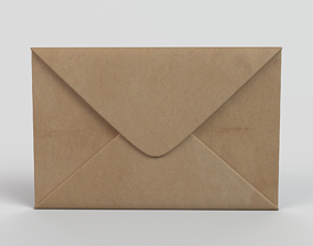 Mail Envelope 3D