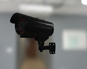 security camera video 3D model