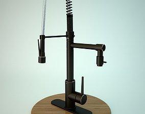 Hight detail Kitchen Faucet 3d model