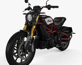 3D model Indian FTR 1200 S 2020