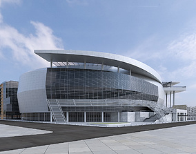 3D model Warriors Arena Stadium