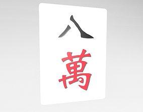 Mahjong v1 008 3D model