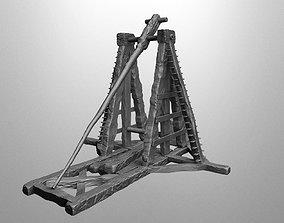3D print model Medieval catapult