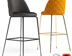 3D model Cult Furniture Heather Bar Stool