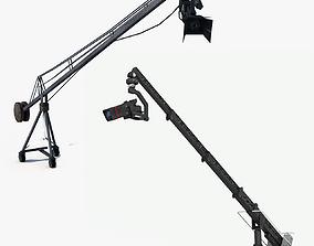 3D model 2 Camera Cranes