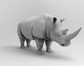 3D print model Rhinoceros