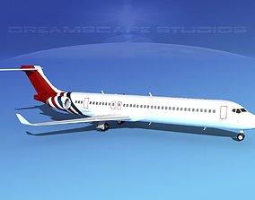 3D model Comac ARJ21-900 Corporate 4